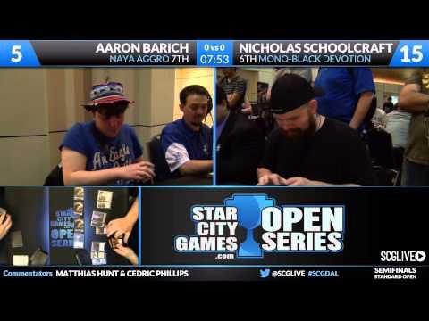 SCGDAL - Standard - Semifinals - Aaron Barich vs Nicholas Schoolcraft