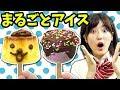 【実験】プリン丸ごとアイスにしてみた!【超簡単】