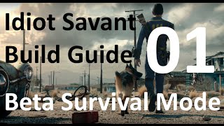 Fallout 4 Beta New Survival Mode Walkthrough ITA 01 - Guide Best Perk Build Idiot Savant