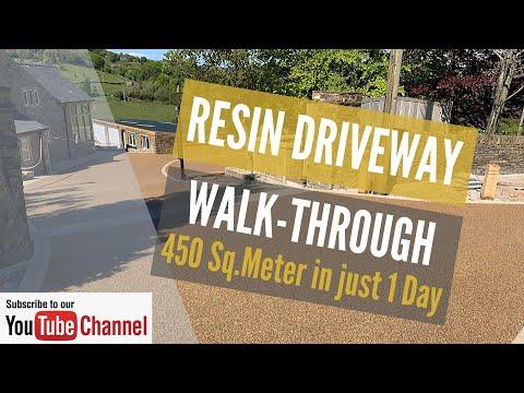 Resin Driveway Full Walkthrough