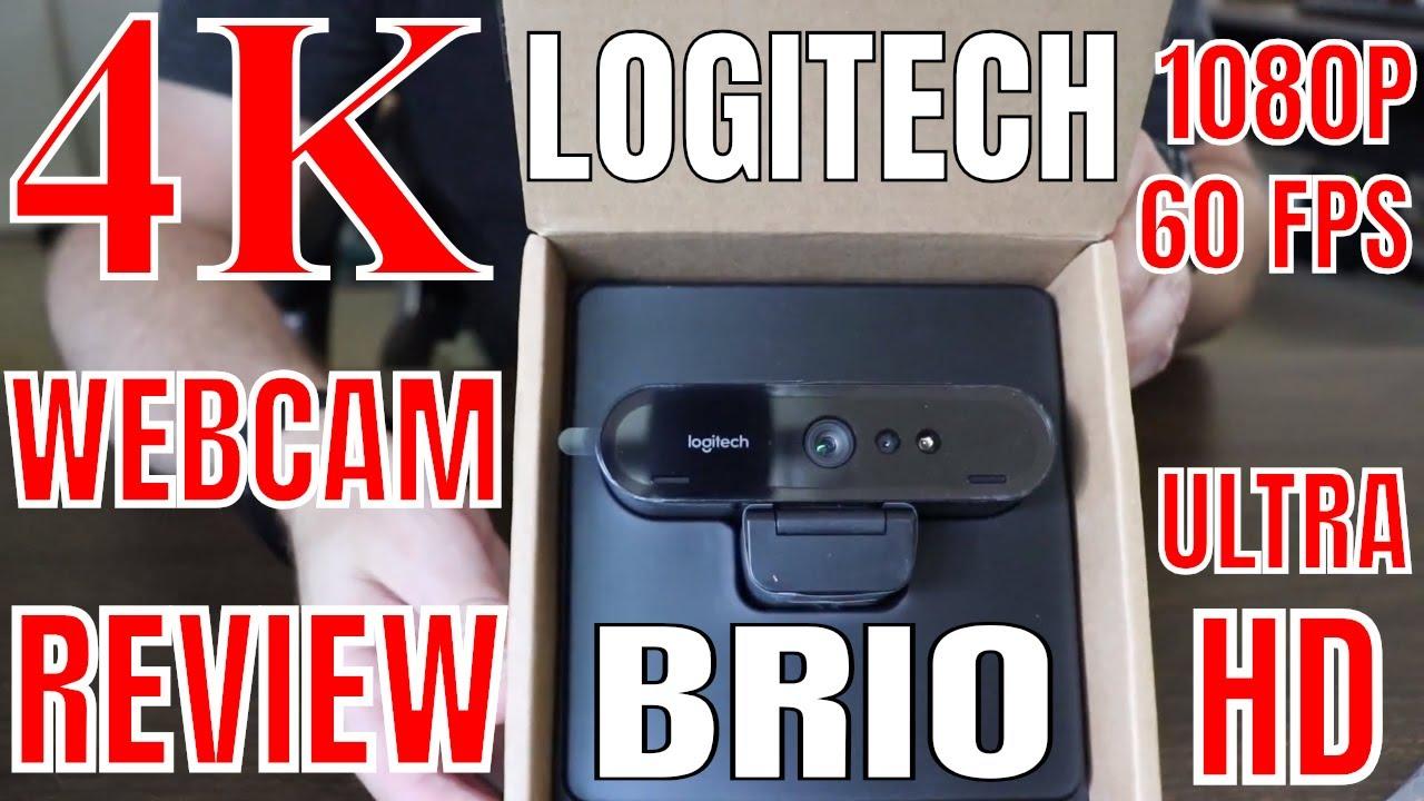 1ea13345fad Logitech BRIO 4K Webcam REVIEW - YouTube