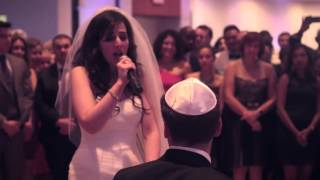 bride surprises groom with the power of love