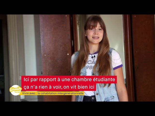 Gironde Mag' -Vivre avec: La cohabitation intergénérationnelle