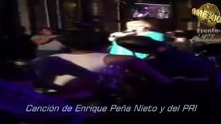 Canción de Enrique Peña Nieto y del PRI, Emitado por Paquita la del Barrio