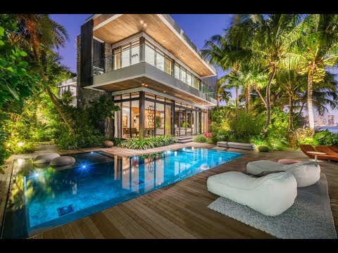 Modern Architectural Masterpiece Residence in Miami Beach -- Lifestyle Production Group
