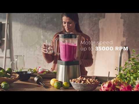Gör dina egna näringsrika smoothies med Philips Höghastighetsmixers