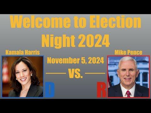 Election Night 2024 - Pence vs. Harris
