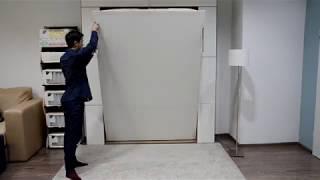 Смотреть видео Как это работает ? - Шкаф-кровати в Москве ! онлайн