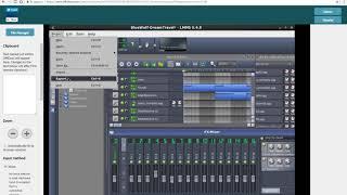 LMMS online music creation editor MultiMedia Studio