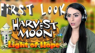NOT THE WORST GAME EVER | Let's play Harvest Moon: Light of Hope