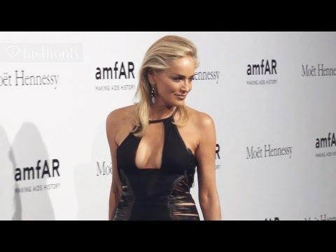 amfAR Gala at Milan Fashion Week ft Sharon Stone & Roberto Cavalli (Part 1) | FashionTV