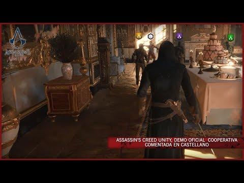 Assassin's Creed Unity - Demo E3_2014 Oficial COOPERATIVA Comentada en Castellano. (ES)