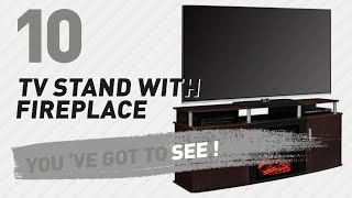 TV Stand With Fireplace // New & Popular 2017
