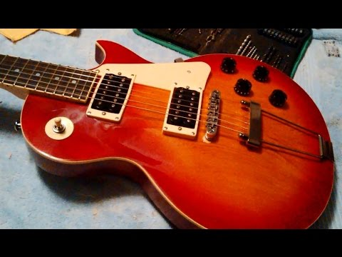 Do It Yourself - Installing A Trapeze Tailpiece On A Les Paul Style Guitar