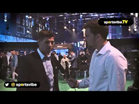 Steven Gerrard Interview - Leaving Liverpool, Istanbul And Joining BT Sport