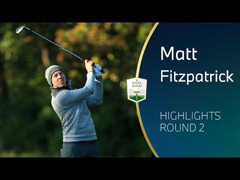 Matt Fitzpatrick Round 2 Highlights | 2020 BMW PGA Championship