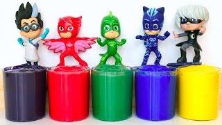 Pj Masks Wrong Heads Toys, Pj Masks Learn Colors for Kids (PJ Masks Toys #2)