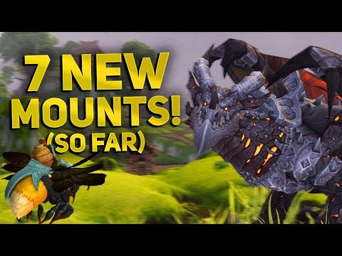 7 NEW Mounts in Patch 8.2.5 & How To Get Them | WoW BfA 8.2.5 Mount Guide
