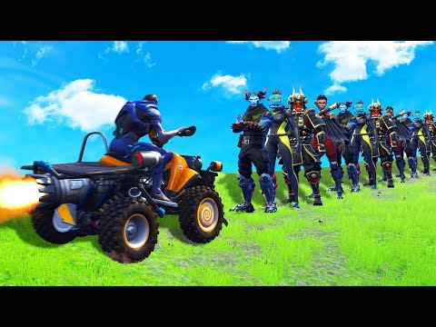 How MANY PEOPLE Can ONE Vehicle KILL In FORTNITE?!