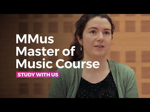 MMus Master of Music Course at the RNCM