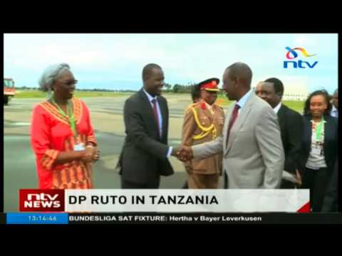 DP Ruto in Tanzania for 18th summit of the Heads of State of the EAC