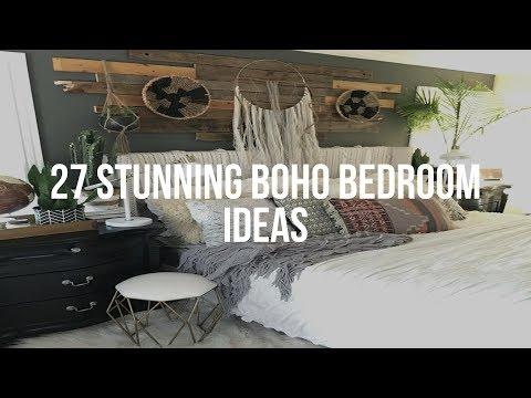 🔴 27 Stunning BOHO BEDROOM IDEAS