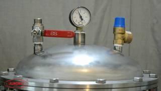 Розлив газированной воды на полуавтоматическом дозаторе МД-500ГН