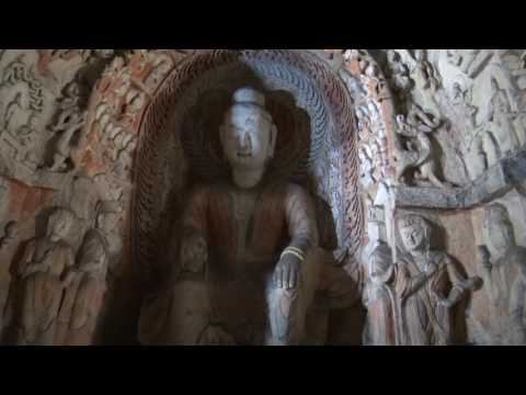 Yungang Grottoes Buddhist Caves in Datong, China