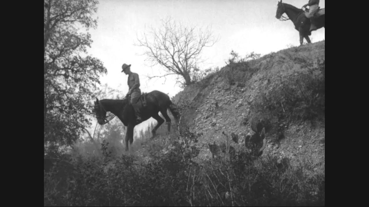 Cavalry Training in the United States, 1917-1918