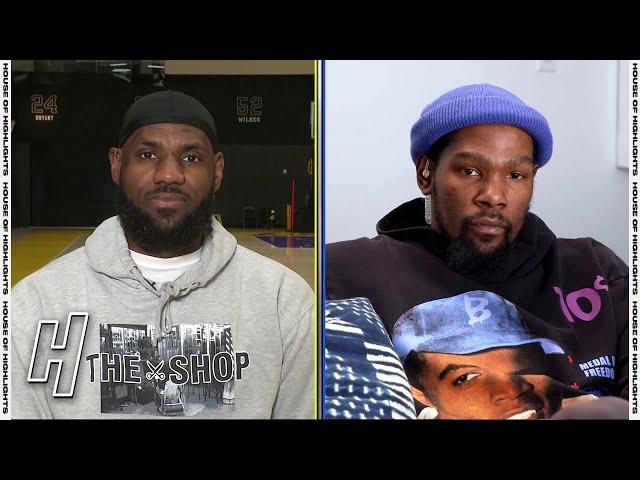 2021 NBA All-Star Draft - Team LeBron vs Team Durant - Inside The NBA