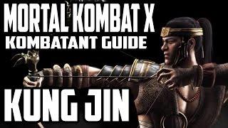 Download Video Mortal Kombat X Kombatant Guide - Kung Jin Combos (Bojutsu) MP3 3GP MP4