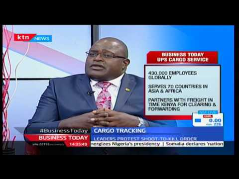 Rogers Wetani-CEO; Freight-in-time(UPS) talks of KRA's cargo tracking system