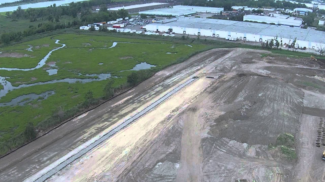 Cooper Construction - Site Flyover - FedEx Ground Facility - Stratford, CT