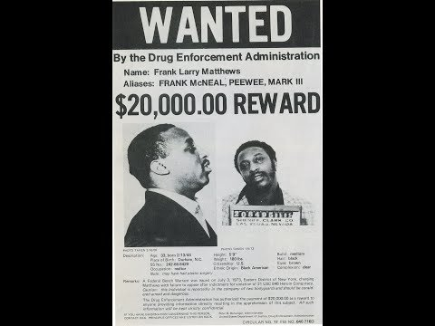 The Biggest Drug Kingpin & Gangster ever: Frank Matthews -the Real American Gangster