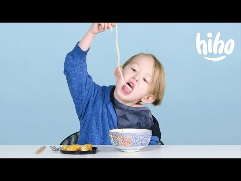 Japanese Food   American Kids Try Food from Around the World - Ep 14   Kids Try   Cut