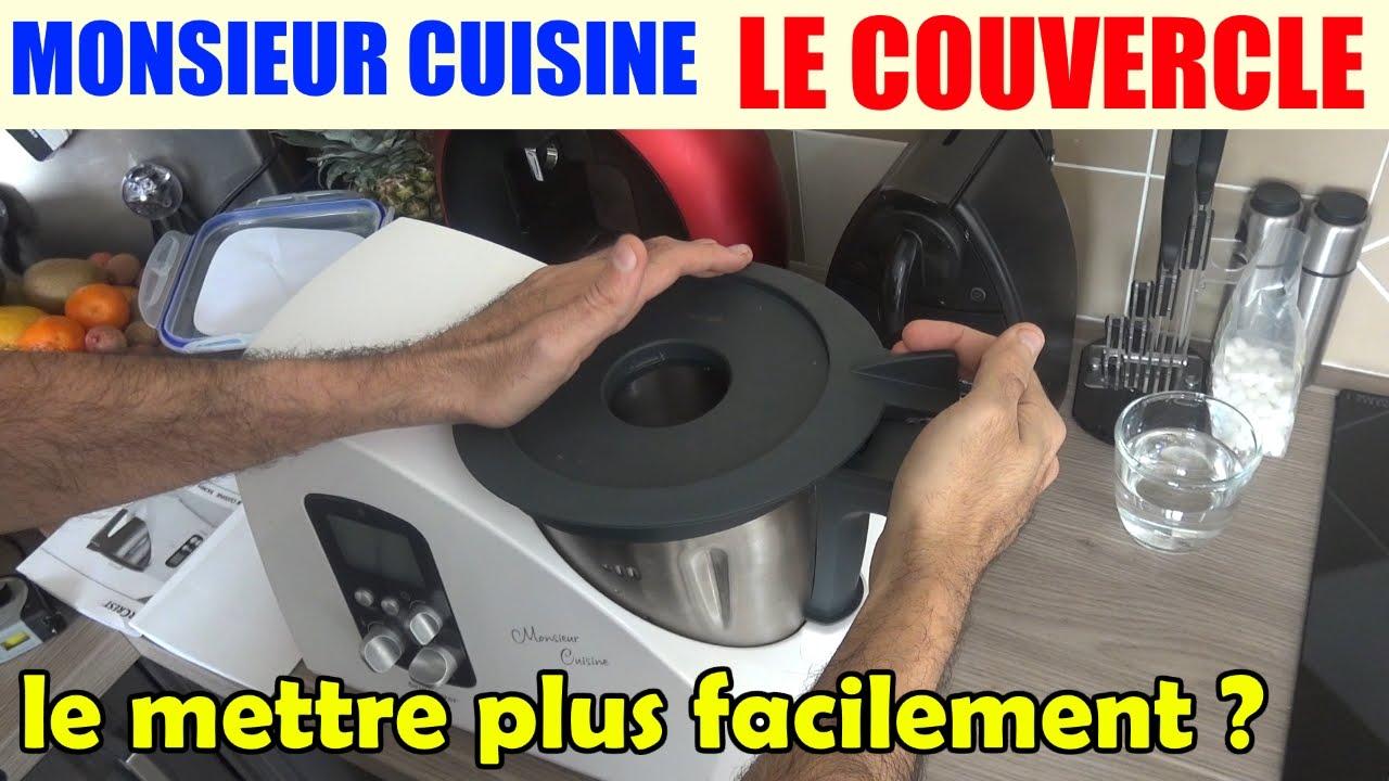 Monsieur cuisine fermer le couvercle plus facilement for Robot menager monsieur cuisine plus