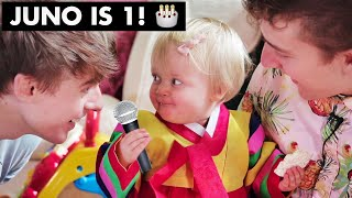Juno's 1st Birthday!!🎂 Baby Hanbok and Korean Style Party for the FIRST TIME!! ~ Cuteness Overload ~