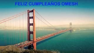 Omesh   Landmarks & Lugares Famosos - Happy Birthday