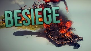BESIEGE | Lets Blow Stuff Up!