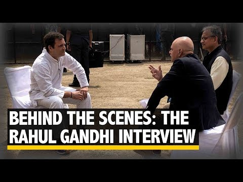 What does it take to interview Rahul Gandhi | The Quint