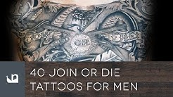 40 Join Or Die Tattoos For Men