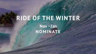 RIDE OF THE WINTER Nov~Jan  NOMINATE