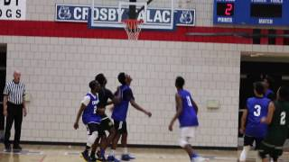 Tremont Waters Highlights vs  Crosby HS