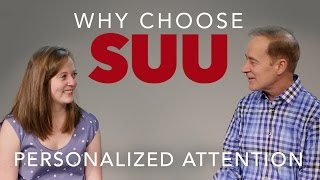 Image for vimeo videos on Why Choose SUU - Personalized Attention