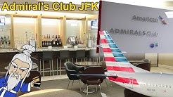 Admirals Club JFK Terminal 8 Review: Does it Suck?
