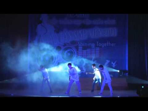 Nhảy hiện đại - Đội svtn Học viện ngân hàng