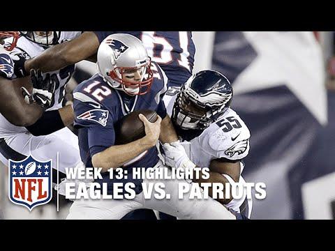 Eagles vs. Patriots   Week 13 Highlights   NFL