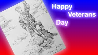 Thank You Vets - Veterans Day Speed Draw