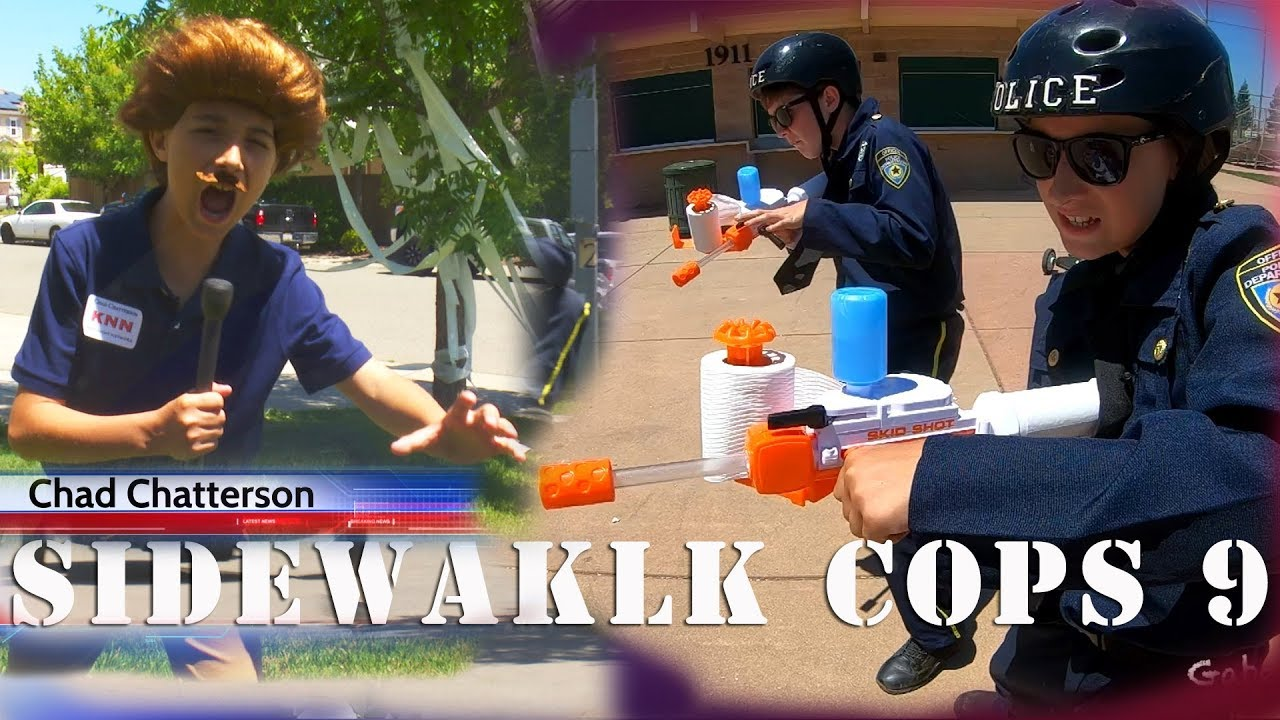 Sidewalk Cops Episode 9 - The Toilet Paper Bandit!