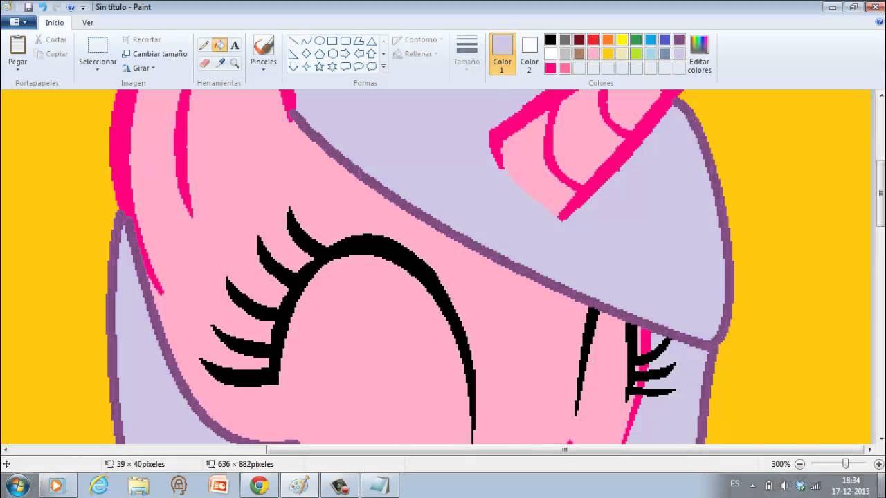 Como Hacer Un Pony En Paint A Partir De Una Base